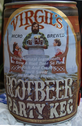 Virgil's Root Beer Party Keg